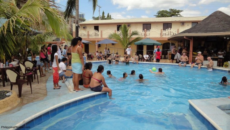 Treasure Island Beach Resort Pool Party Philippine Photos