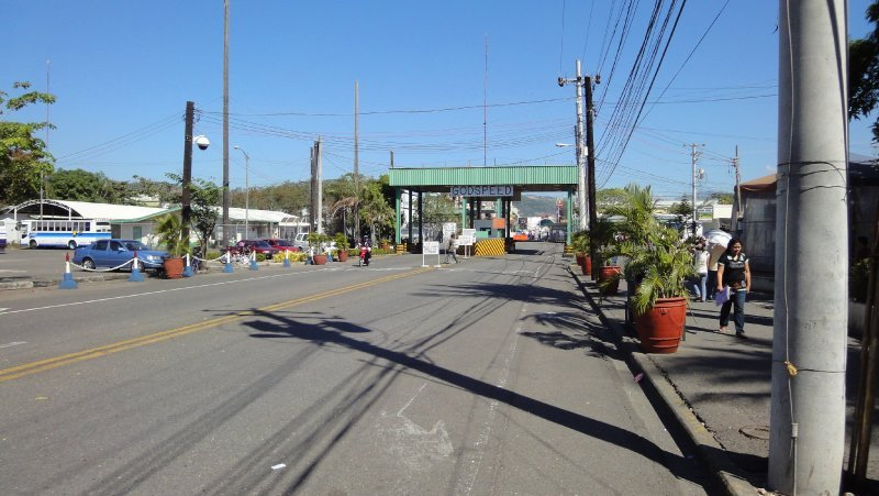 A view of the Subic Bay Naval Station Main Gate from the base side.