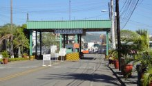 A closer view of how the Subic Bay Naval Station Main Gate looks today.