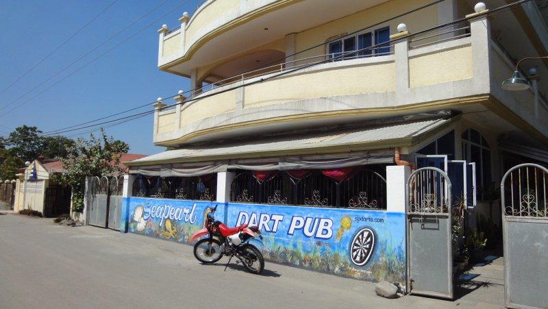 Sea Pearl Dart Pub. Fun place!