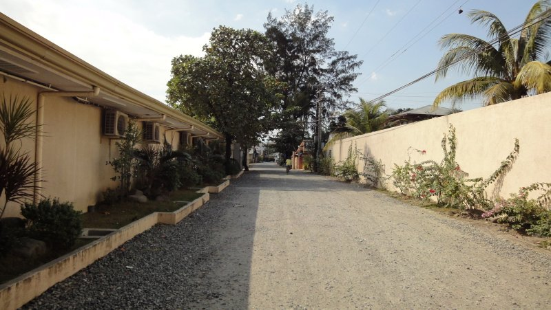 A section of Baloy Beach Road by Wild Orchid