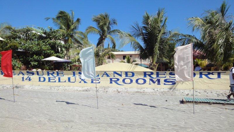 Treasure Island Resort from the beach