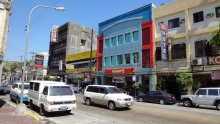 Violets Hotel, Kongs Hotel and Wimpys on Magsaysay Drive, Olongapo, Subic Bay, Philippines
